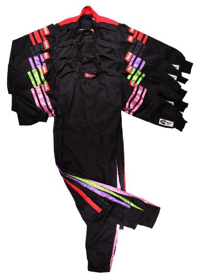 SFI-1 JR SUIT WITH ASSORTED TRIM COLOR