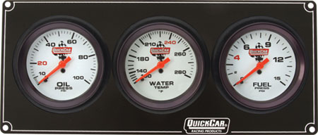 Extreme QuickCar 3 Gauge Panel