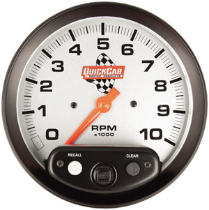 "5"" QuickCar Tachometer with Memory"