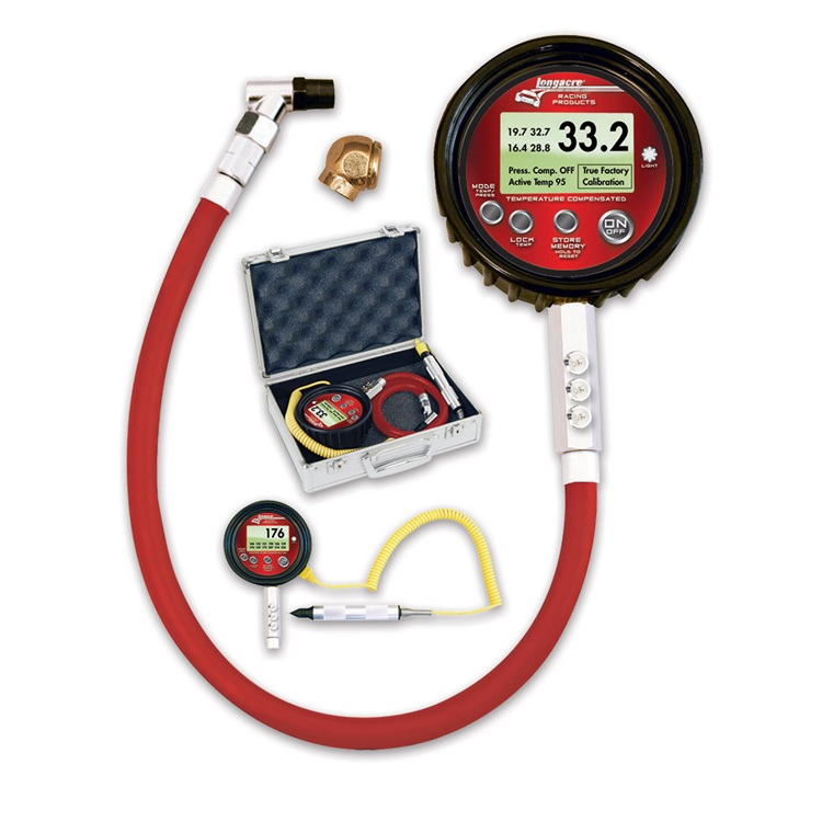 Dig Temp Comp TPG 0-100 w/ temp probe & case
