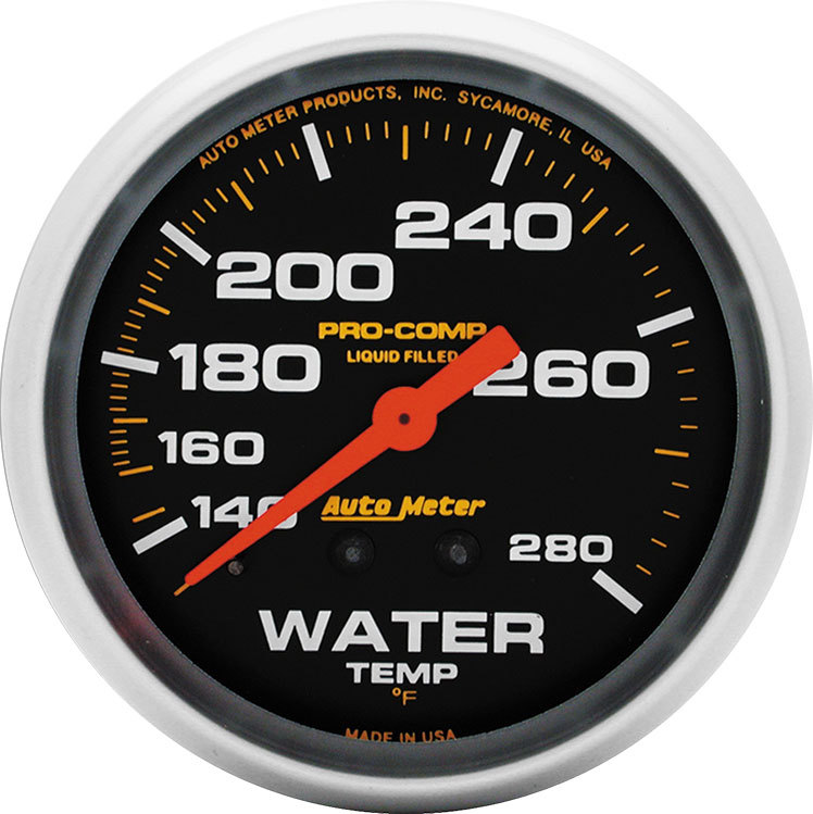 Pro Comp Replacement Gauge Liquid Filled Water Temperature