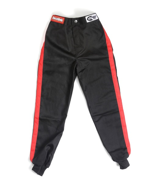 SFI-1 KIDS PANTS 1-LAYER BLACK